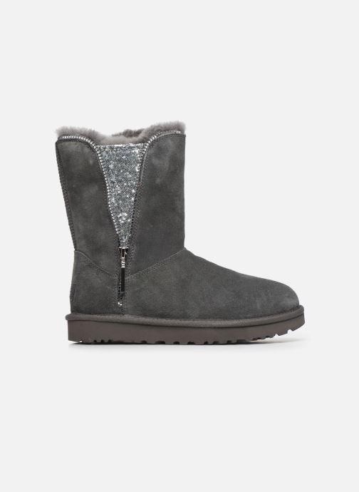 Stiefeletten & Boots UGG Classic Zip Boot grau ansicht von hinten