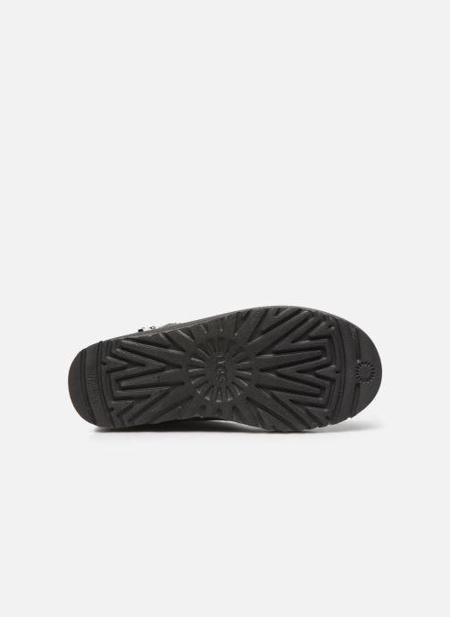 Stiefeletten & Boots UGG Classic Zip Boot grau ansicht von oben