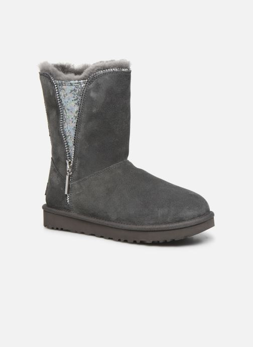 Stiefeletten & Boots UGG Classic Zip Boot grau detaillierte ansicht/modell