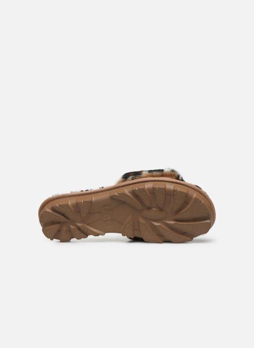 Pantoffels UGG Cozette Leopard Bruin boven