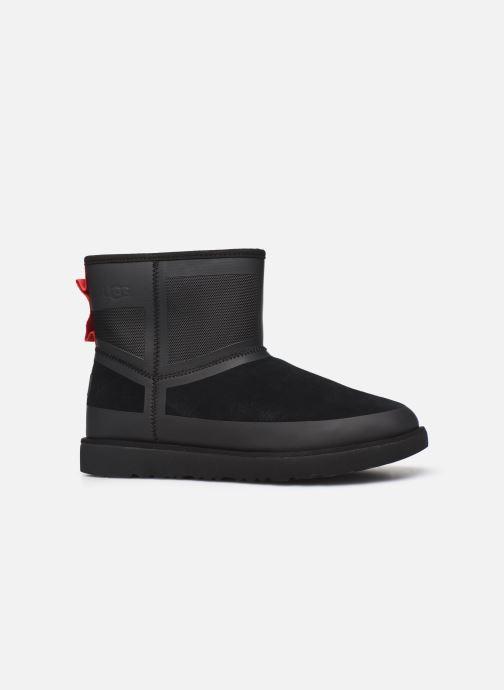 Chaussures de sport UGG Classic Mini Urban Tech Waterproof Noir vue derrière