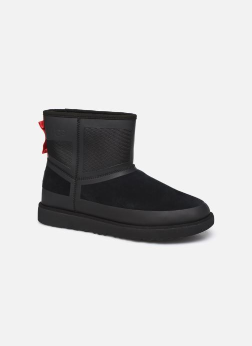 Chaussures de sport UGG Classic Mini Urban Tech Waterproof Noir vue détail/paire