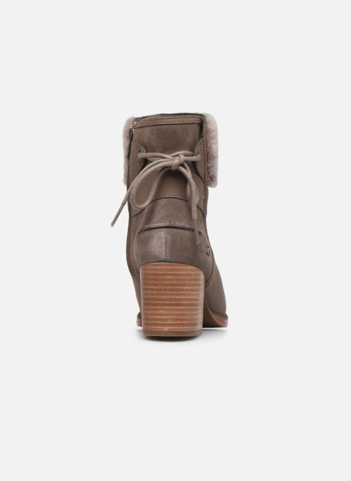 Bottines et boots UGG Kirke Marron vue droite