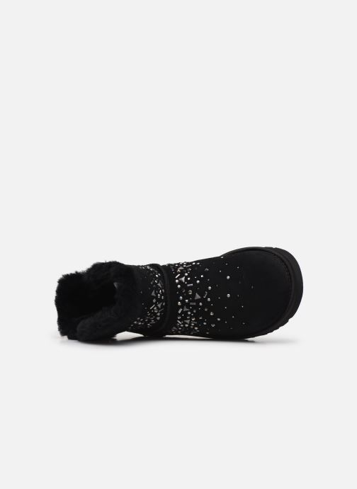 Bottines et boots UGG Classic Galaxy Bling Mini Noir vue gauche