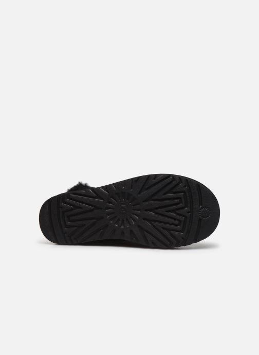 Bottines et boots UGG Classic Galaxy Bling Mini Noir vue haut