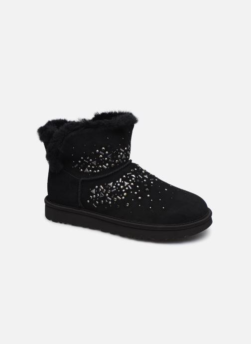 Bottines et boots UGG Classic Galaxy Bling Mini Noir vue détail/paire