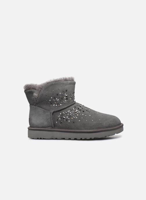 Stiefeletten & Boots UGG Classic Galaxy Bling Mini grau ansicht von hinten