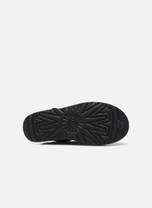 Bottines et boots UGG Classic Galaxy Bling Short Noir vue haut