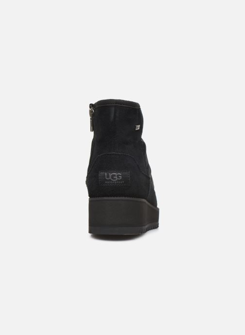 Zapatillas de deporte UGG Ridge Mini Negro vista lateral derecha