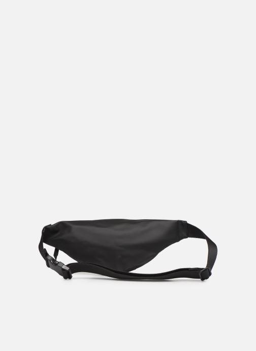Kleine lederwaren Rains  Bum Bag Mini Zwart voorkant
