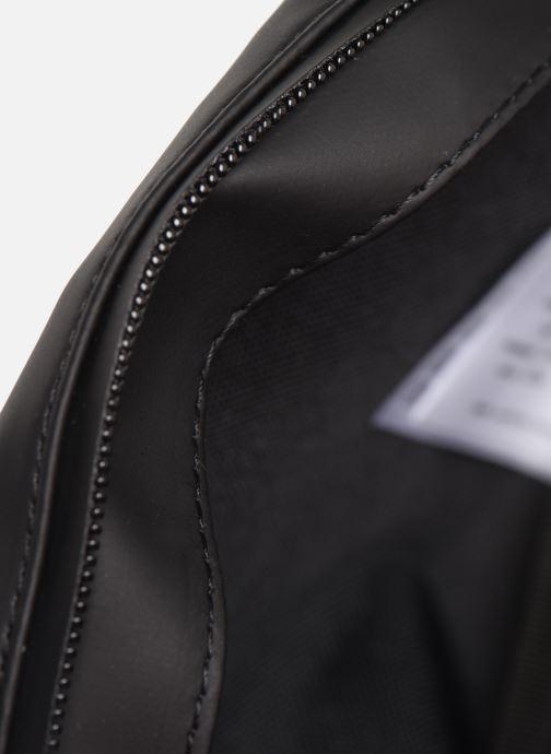 Kleine lederwaren Rains  Bum Bag Mini Zwart achterkant