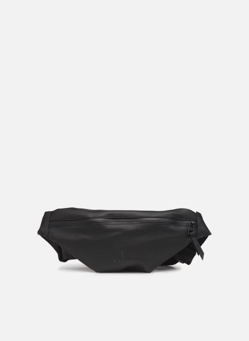 Kleine lederwaren Rains  Bum Bag Mini Zwart detail