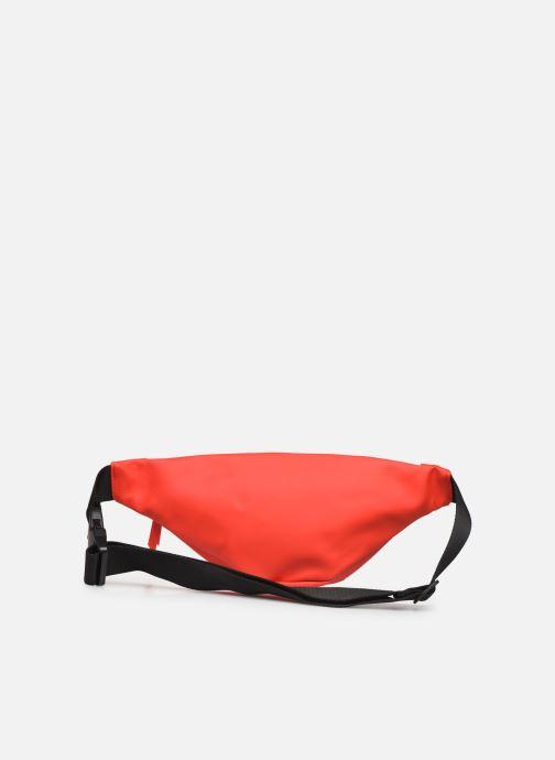 Kleine lederwaren Rains  Bum Bag Mini Rood voorkant