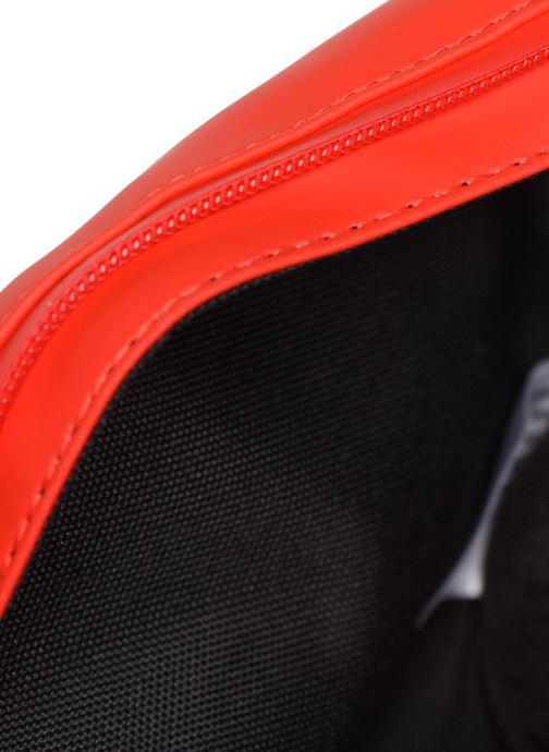 Kleine lederwaren Rains  Bum Bag Mini Rood achterkant