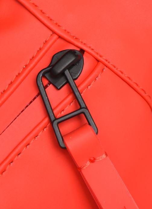 Kleine lederwaren Rains  Bum Bag Mini Rood links