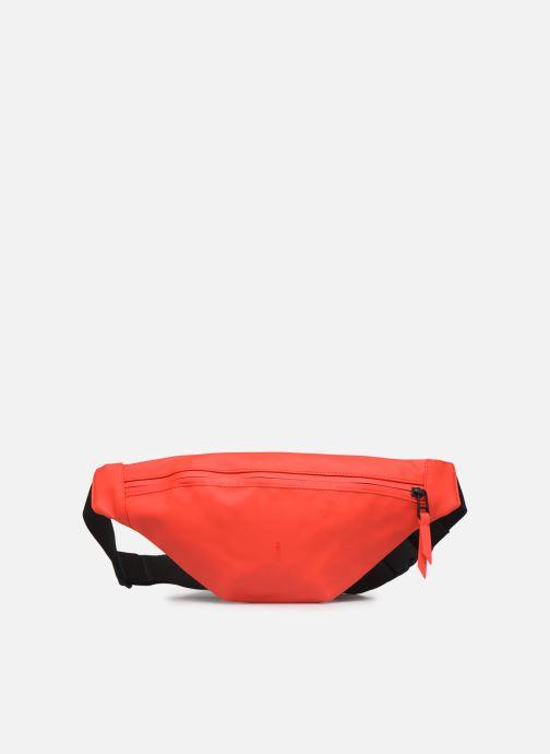 Kleine lederwaren Rains  Bum Bag Mini Rood detail