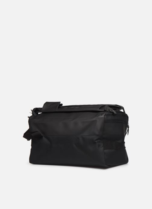 Sacs de sport Rains  Duffel Backpack Noir vue droite