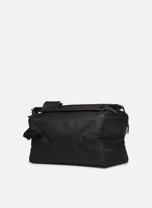 Bagages Rains  Duffel Backpack Noir vue droite