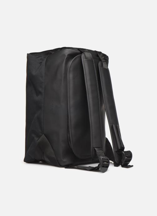 Sporttaschen Rains  Duffel Backpack schwarz ansicht von links