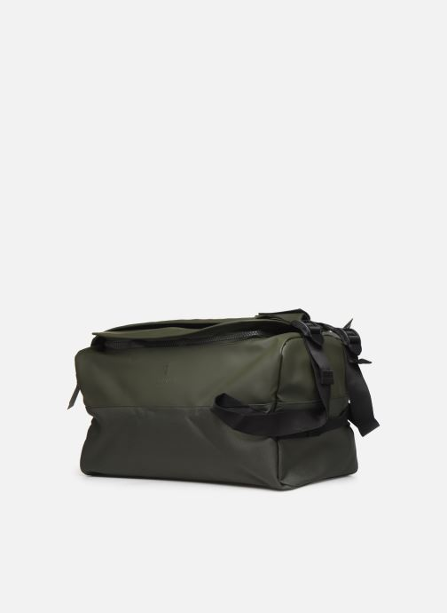 Bolsas de deporte Rains  Duffel Backpack Verde vista del modelo