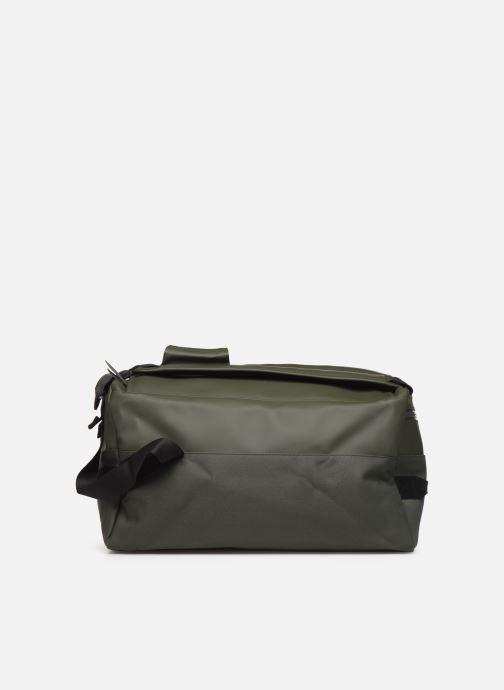 Bagage Rains  Duffel Backpack Groen voorkant