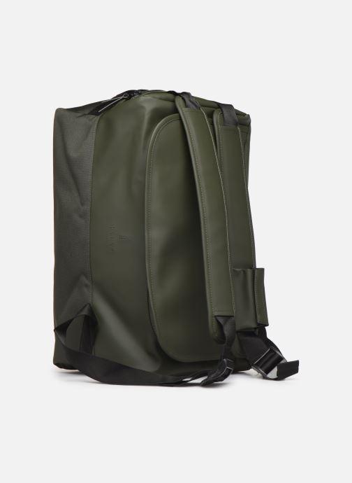 Bolsas de deporte Rains  Duffel Backpack Verde vista lateral izquierda