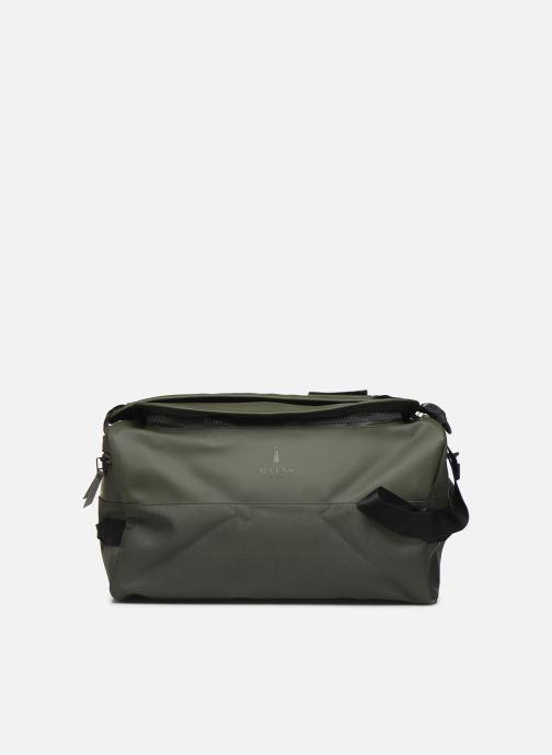 Bolsas de deporte Rains  Duffel Backpack Verde vista de detalle / par