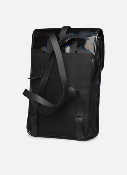 Rucksäcke Rains  Holographic Backpack Mini schwarz ansicht von rechts