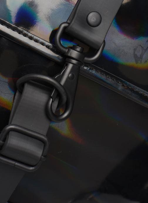 Mochilas Rains  Holographic Backpack Mini Negro vista lateral izquierda