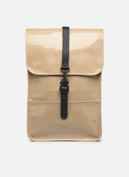 Mochilas Rains  Holographic Backpack Mini Beige vista de detalle / par