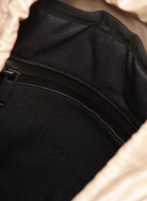 Rucksacks Rains  Holographic Drawstring Backpack Beige back view