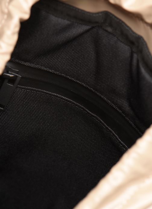 Sacs à dos Rains  Holographic Drawstring Backpack Beige vue derrière