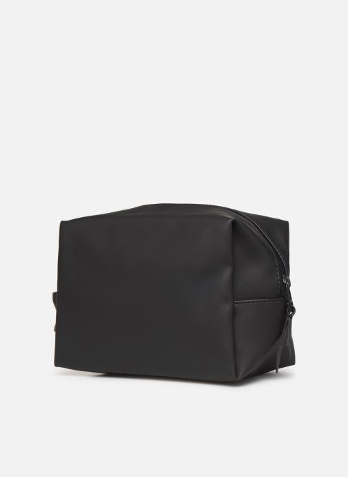 Reisegepäck Rains  Wash Bag Small schwarz ansicht von rechts