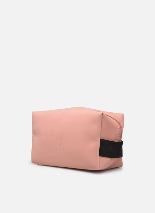 Reisegepäck Rains  Wash Bag Small rosa schuhe getragen
