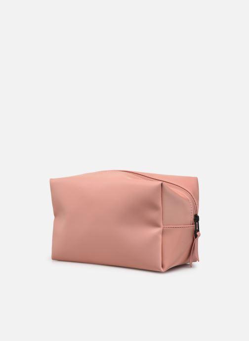 Reisegepäck Rains  Wash Bag Small rosa ansicht von rechts