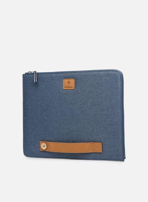 Kleine lederwaren Faguo Sleeve Syn Wov Blauw model
