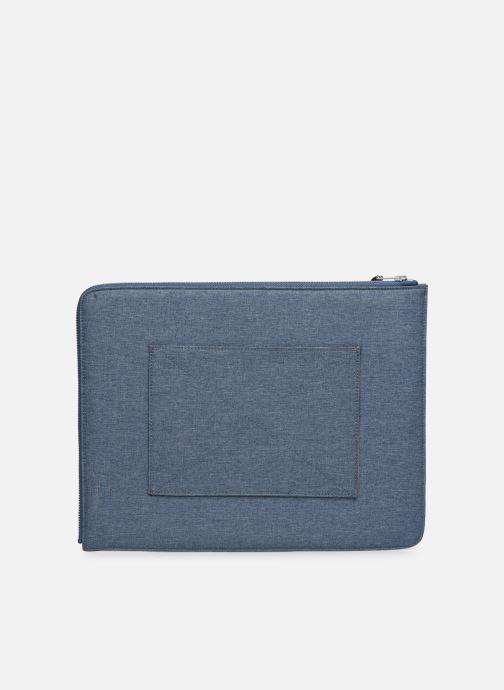 Kleine lederwaren Faguo Sleeve Syn Wov Blauw voorkant