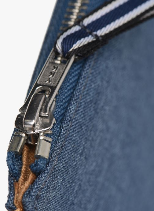 Marroquinería pequeña Faguo Sleeve Syn Wov Azul vista lateral izquierda