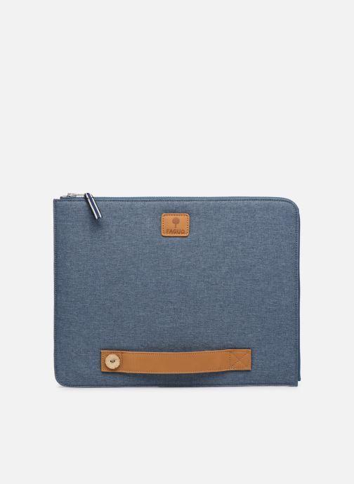 Kleine lederwaren Faguo Sleeve Syn Wov Blauw detail