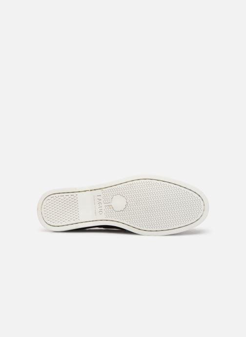 Schnürschuhe Faguo Boat Shoes Larch Suede blau ansicht von oben