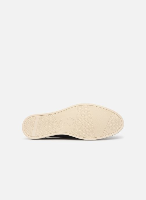 Veterschoenen Faguo Boat Shoes Larch B Suede Blauw boven