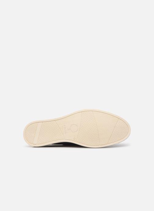 Chaussures à lacets Faguo Boat Shoes Larch B Suede Bleu vue haut