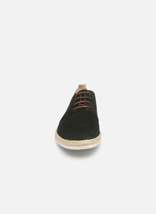 Chaussures à lacets Faguo Derbies Plane Suede Vert vue portées chaussures