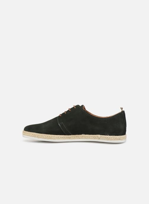 Lace-up shoes Faguo Derbies Plane Suede Green front view