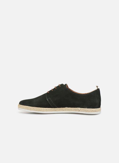 Chaussures à lacets Faguo Derbies Plane Suede Vert vue face