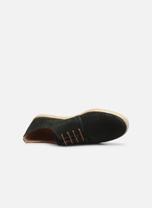 Chaussures à lacets Faguo Derbies Plane Suede Vert vue gauche