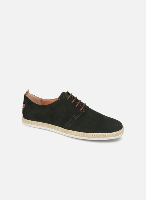 Lace-up shoes Faguo Derbies Plane Suede Green detailed view/ Pair view