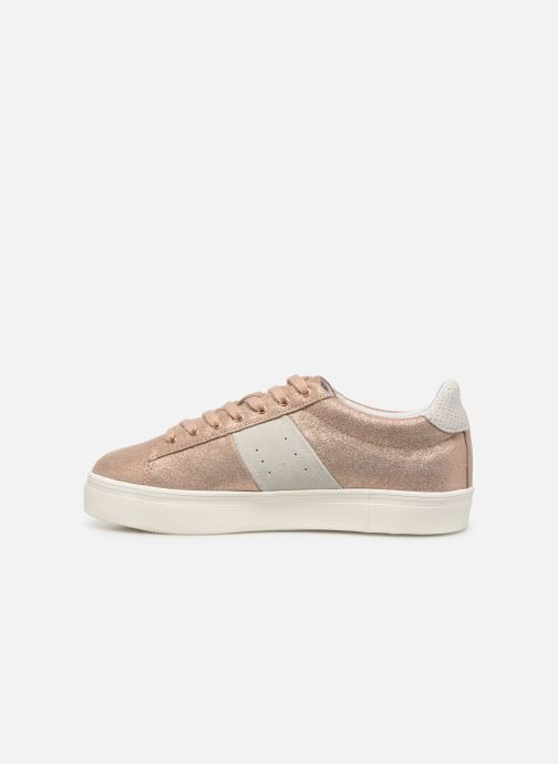 Sneaker Faguo Tennis Hosta Leather Suede W gold/bronze ansicht von vorne