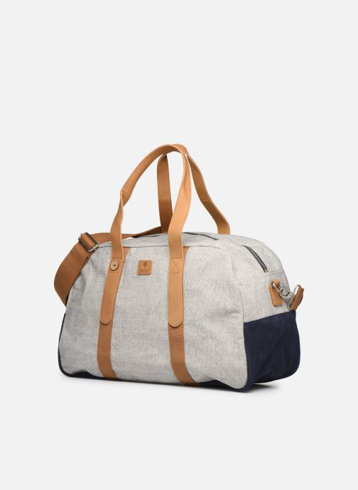 Equipaje  Faguo Bag48 Cotton Gris vista del modelo