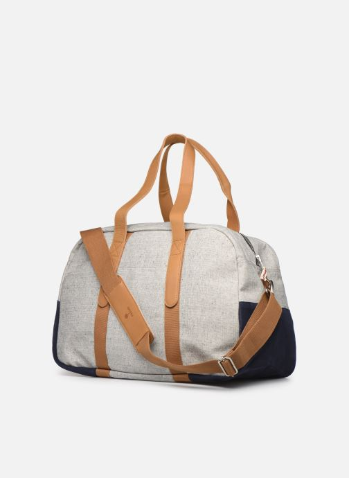 Equipaje  Faguo Bag48 Cotton Gris vista lateral derecha